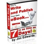 How to Write and Publish an Ebook in as Little as 7 Days