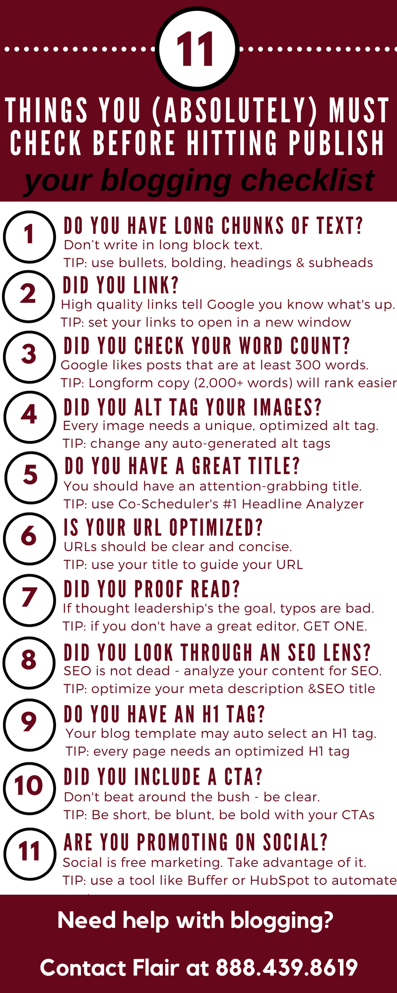 11 things before publish_infographic-1