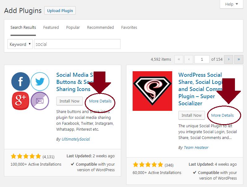 review wordpress plugins