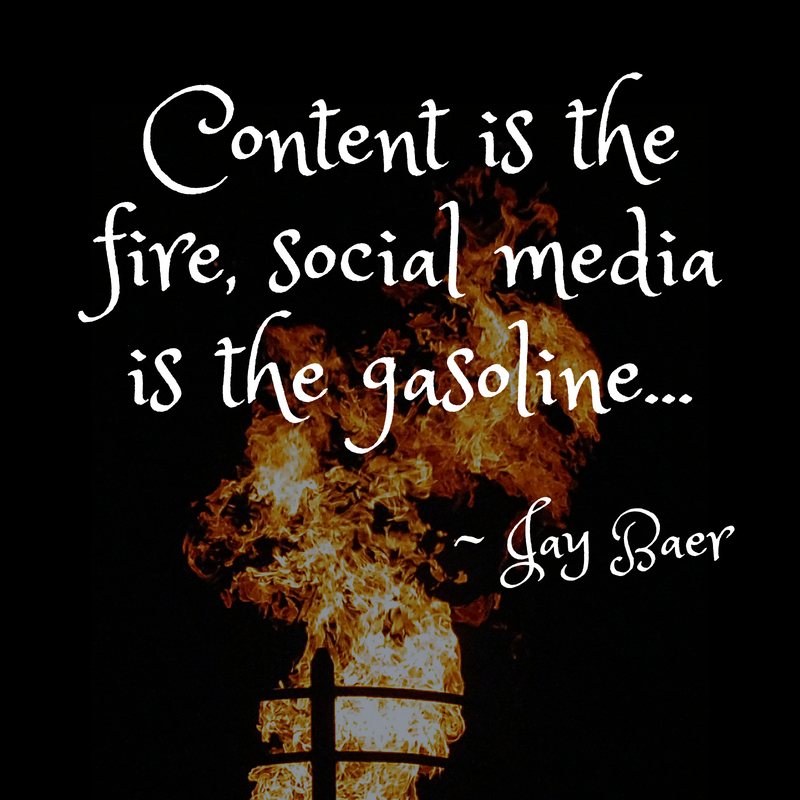 Content is the fire