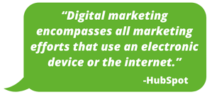 Digital Marketing Quote HubSpot 2