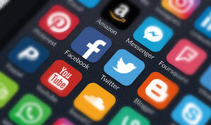 applications social media on smart phone